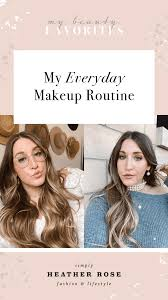 my everyday makeup routine simply