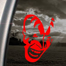 Kiss Red Decal Faces Band Car Truck Bumper Window Red Sticker Martha R Fouster