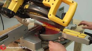 How To Square Up And Align A Dewalt Dw708 Miter Saw Youtube