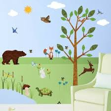 Woodland Wall Decal Wayfair