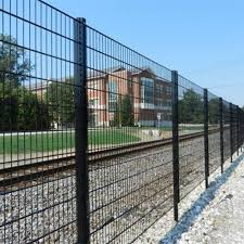 Doublewirefence Double Wire Mesh Fence Widely Using Simple Installation Price Valuable Good Anti Corrosion Wire Mesh Fence Welded Wire Fence Wire Fence