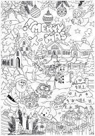 Kerst Kleurplaat Kerstmis Kleurplaten Kerstmis Kleuren