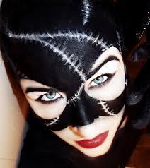 catwoman makeup portraits