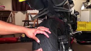 motorcycle tyre puncture repair