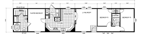 mobile home floor plans single wide