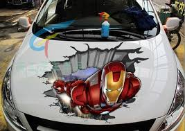 40cm High Iron Man 3d Simulation Personalized Car Stickers Car Decal Decorative Stickers Scratch Decal Sticker Plastic Stickers Dogsticker Eyeliner Aliexpress