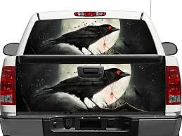 Product Raven Rear Window Or Tailgate Decal Sticker Pick Up Truck Suv Car