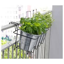Svartpeppar Plant Pot Holder In Outdoor Black Ikea