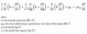 heat equation in cylindrical