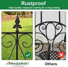 Amagabeli Garden Fence Rustproof Metal Wire Fencing 24inx10ft Outdoor