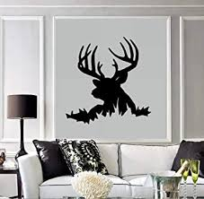 Buck Deer Head Wall Decal Home Decor 21 X 21 5 Other Products Amazon Com