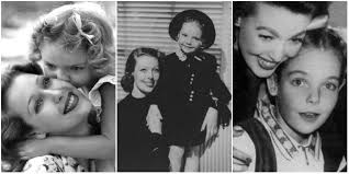 Adorable Photos of Loretta Young and Daughter Judy Lewis (Love ...