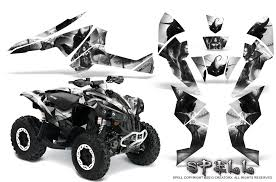 Can Am Renegade Graphics Kit By Creatorx Decals Stickers Spell W Ebay