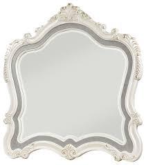 chantelle mirror pearl white