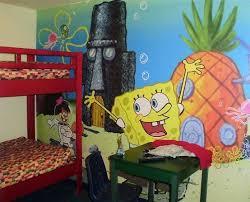 Kids Bedroom Decor Ideas Inspired By Spongebob Squarepants Kids Bedroom Decor Themed Kids Room Kids Room Wall Decals