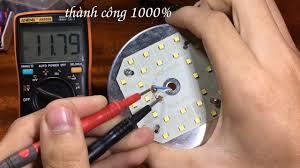 Cách sửa bóng đèn LED bị nhấp nháy, ai cũng làm được - YouTube