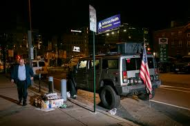 Two Men Outside Philly Vote Count In Hummer With Qanon Stickers Face Weapons Charges Police Say