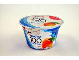 yoplait greek 100 protein peach yogurt