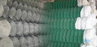 Chain Link Fence Berming Security Fencing Co Anti Climb Spikes Barbed Wire Razor Wire Concertina Coils Ornamental Fenc Pvc Coated Perimeter Security Fencing Chain Link Fence Double Weft Wire Security Fence
