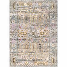 cherrelle oriental light gray area rug