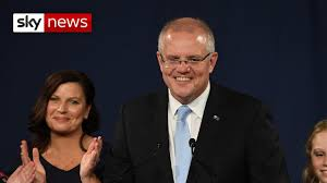 Australian PM Scott Morrison wins ...