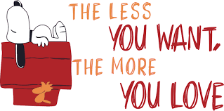 The Less You Want The More You Love Vinyl Home Decor Snoopy Wall Decal Quotes Ebay