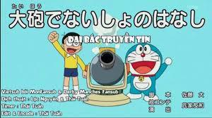 Dora-Chan - Doraemon Tập 502 Vietsub-Nhà phát minh vĩ đại&Đại bác ...
