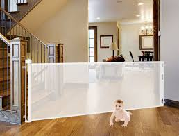 Retract A Gate Retractable Safety Gate Retractable Baby Gate Or Retractable Pet Gate An Easy To Use Retractable Baby Gate Baby Gates Retractable Pet Gate