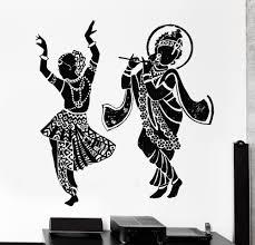 Wall Decal Buddha Dance Dancing Indian Hinduism Gods Vinyl Sticker Home Decor Stickers Home Decor Home Decorwall Decals Aliexpress