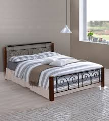 chicago king size bed in black finish