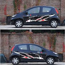 Byd Fo Car Sticker F0 Garland Love Only Europe Car Modified Cover Sticker Swift Panda Decal Waist Line