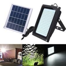8w solar power 150 led motion sensor