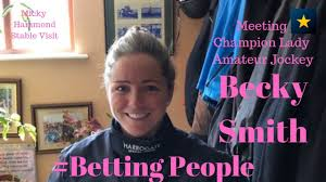 Interview: #BettingPeople BECKY SMITH - YouTube