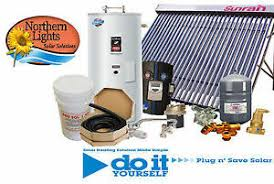 swh 5 solar hot water heating package