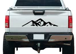 Product Mountain Nature Forest Graphic Decal Vinyl Fits Tailgate Trailer Rv Camper
