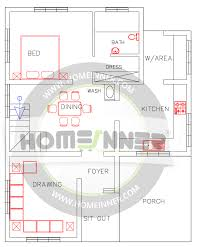 1500 sq ft 3 bhk indian home plan