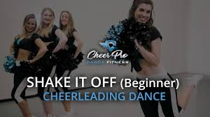 shake it off cheerleading dance