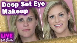 makeup on deep set eyes tips