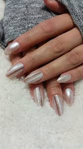 nails manicure hands white nail