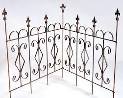 Diamond Garden Metal Border Fence Edging Landscape Border Fencing 10 Styles Wrought Iron Fences Iron Fence Panels Iron Fence