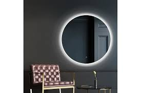 70cm led wall mirror with light