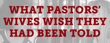 seven things pastors wives wish they