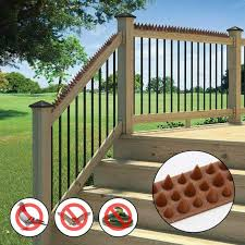 2 20pcs Wall Fence Bird Spikes Anti Climb Security Cat Bird Repellent Deterrent For Use On Fences Walls Sheds Railings Ledges Aliexpress