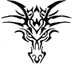 Tribal Dragon Car Or Truck Window Decal Sticker Rad Dezigns