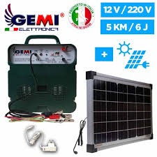 B 12 Extra Strong Battery Energizer And Solar Panel For Electric Fence