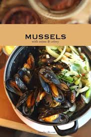 Mussels with Celery & Onion Recipe ...