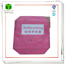 china colorful kraft paper cement valve
