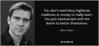 QUOTES BY ADAM COOPER | A-Z Quotes