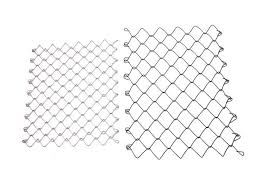 Galvanized Steel Chain Link Fabric 6ft X 50 Ft 11 5 Gauge For Playground