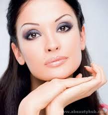 makeup ideas for pale skin dark hair